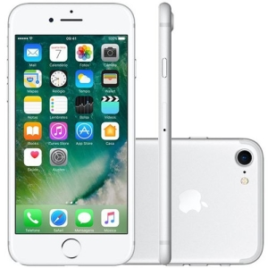 iPhone 7 Apple 32GB Prateado - R$2849