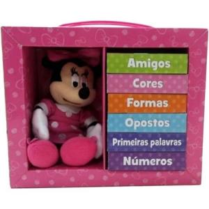 Livro - Aprenda com a Minnie - [6 Volumes] - R$34