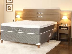 Box para Colchão Casal Paropas 138x188cm - Phanton R$179,00