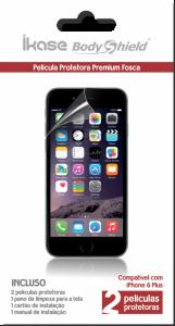 Película Ikase Fosca Para iPhone 6 Plus Anti-Reflexo / Anti-Digital - R$ 1,89
