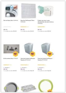 Saldão de Utilidades Domésticas, produtos de excelente qualidade *A partir de R$1*