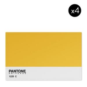 [PRIVALIA OUTLET] Jogo Americano Amarelo & Branco PANTONE 4Pçs