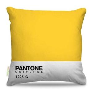 [PRIVALIA OUTLET] Almofada Amarela & Branca 40x40x15cm