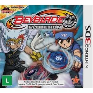 Beyblade Evolution - Nintendo 3DS - R$ 29,90