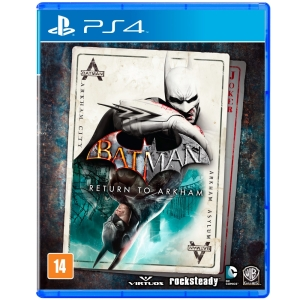 Batman Return to Arkham - PS4 - R$ 94,90