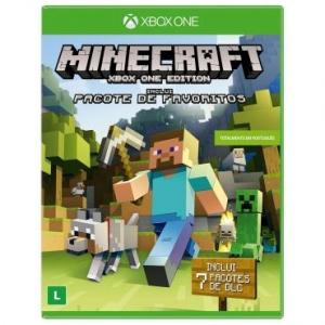 Minecraft + 07 pacote de Dlcs - Xbox One - R$ 49,90