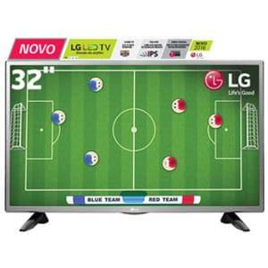 "TV LED 32"" HD LG 32LH515B - R$  1.089,00"