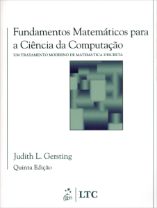 Fundamentos Matemáticos para a Ciência da Computação - 5ª Edição por R$ 50