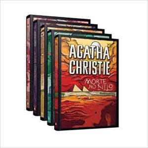 Kit Agatha Christie (5 livros c/ capa dura) por R$50