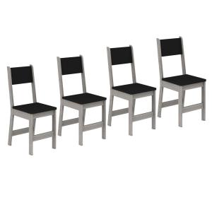 Conjunto de 4 Cadeiras Madesa Rubia 42252 por R$ 79