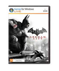 Batman Arkham City - PC MIDIA FÍSICA - R$ 8,42