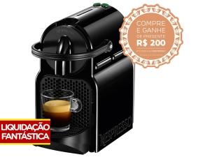 Cafeteira Expresso 19 Bar Nespresso Inissia - Preto por R$ 250