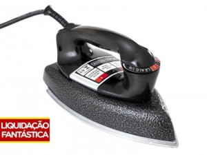 Ferro de Passar a Seco Black&Decker VFA Eco - Preto por R$ 40