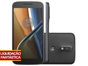 Smartphone Motorola Moto G 4ª Geração 16GB Preto por R$900