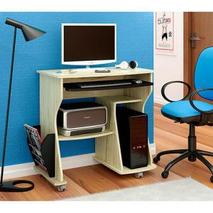 Mesa para Computador com Nicho - Capuccino/Ébano - Artely. R$59,99