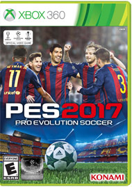 PES 2017 (Xbox 360) por R$98