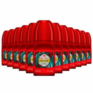 Kit com 12 Desodorantes Old Spice Masculino 50ml - R$39,60