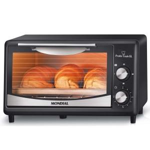 Forno Elétrico Mondial Pratic Cook 6 Litros  - R$ 109,90