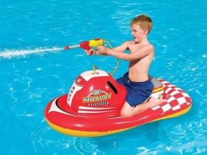 Bote inflável Bestway Jet Ski com pistola d'água - 41071 por R$ 55