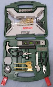 Kit 103 peças Xline Bosch - R$113