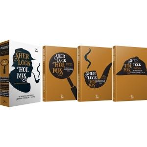 Livro - Box Sherlock Holmes: As Aventuras de Sherlock Holmes (3 Volumes) - R$ 15