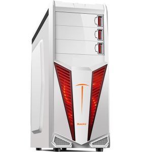 Gabinete Computer Case Gamer - Branco - R$ 119,90