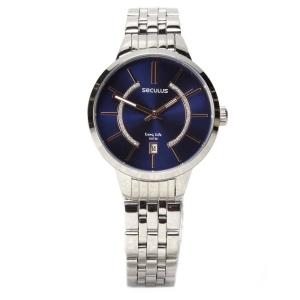 Relógio Feminino Analógico Seculus 28434L0SVNA1 - Cromado por R$ 90