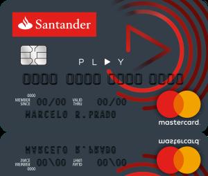 CARTÃO SANTANDER PLAY COM ANUIDADE GRÁTIS (CONCORRENTE DO NUBANK)