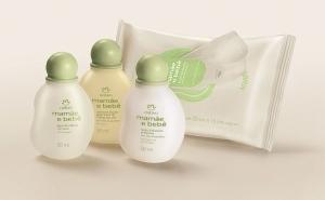 Conjunto Natura Mamãe e Bebê Miniaturas - Água de Colônia + Sabonete Líquido + Loção Hidratante + Lenços Umedecidos - r$35,70