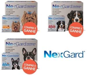 Embalagem Econômica Antipulgas e Carrapatos Nexgard para Cães a partir de R$ 113