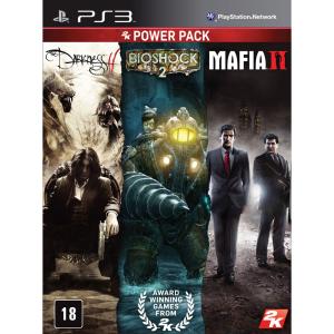 (3 jogos) Mafia II, Bioshock 2 e The Darkness II - PS3
