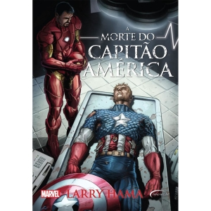Livro - A Morte do Capitão América - Volume 1 - Larry Hama - R$14,18