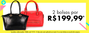 Leve 2 Bolsas por R$199,99