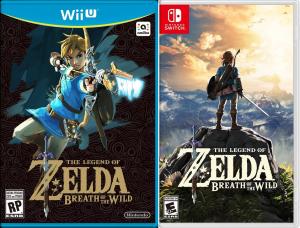 The Legend of Zelda: Breath of the Wild - Pré Venda - Nintendo Switch ou Wii U - R$ 224,99 + Frete Grátis para o Brasil Todo.