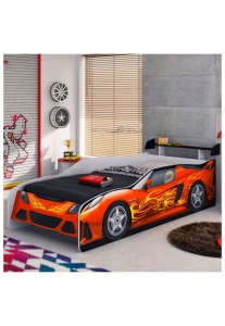 Cama Sport Car Vermelha Móveis Estrela - R$ 314,90