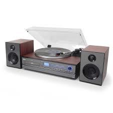 Toca-Discos Aria Raveo Bivolt com 2 Velocidades Sistema Hi-Fi 30W - R$ 1.116,63