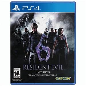 Resident Evil 6 - PS4 - R$ 62.99