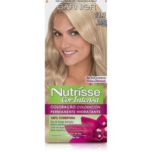 Coloração Nutrisse Cor Intensa 11.1 - Garnier - R$ 3,99