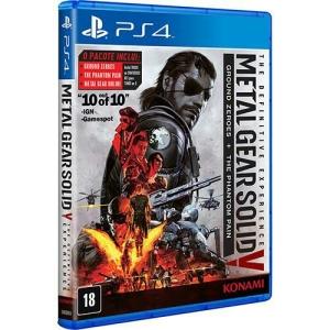 Metal Gear Solid 5 edição completa por $97