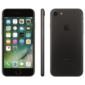 iPhone 7 Apple com 128GB, com 3D Touch, iOS 10, Câmera 12MP, Resistente à Água, Preto Matte por R$3432