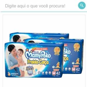 Kit Fraldas Mammy Poko (2 modelos) por R$85