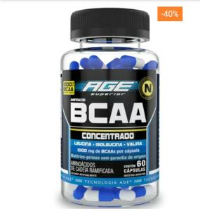 Aminoacid BCAA Age 60 Cáps - Nutrilatina