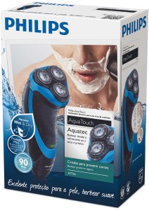 Barbeador Philips Seco e Molhado Aqua Touch AT611/16 - R$130
