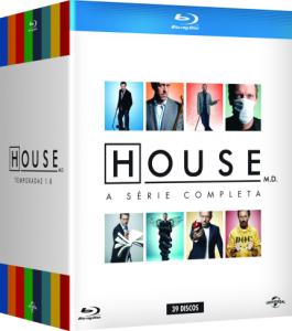 Blu-Ray Box House - A Série Completa - 39 Discos  - R$199,90