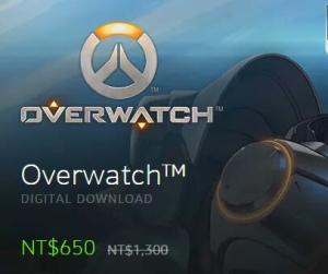 Overwatch - R$160