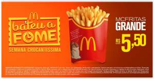 Mc Fritas GRANDE por R$ 6
