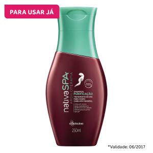 Nativa SPA Shampoo Argiloterapia para couro cabeludo sensível, 250ml - R$14