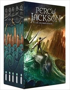 Box Percy Jackson e os Olimpianos por R$ 47