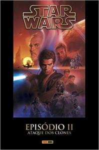 HQ - Star Wars - Episódio II - Ataque dos Clones - Volume 1: 2 (Capa Dura) - R$ 8,00