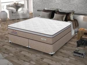 Box para Colchão Queen Size Plumatex Bipartido - 37cm de Altura Ópus - R$ 199,99